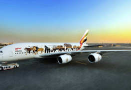 Emirates-A380-with-the-first-United-for-Wildlife-decal-featuring-six-endangered-species