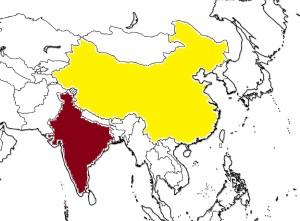 Harita_Asya_Hindistan_Çin