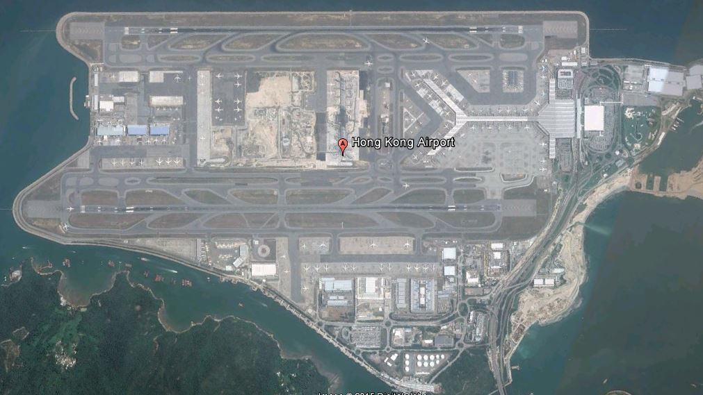 Hong Kong (HKG) - Google Earth