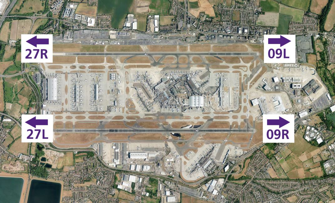 Londra Heathrow_google earth