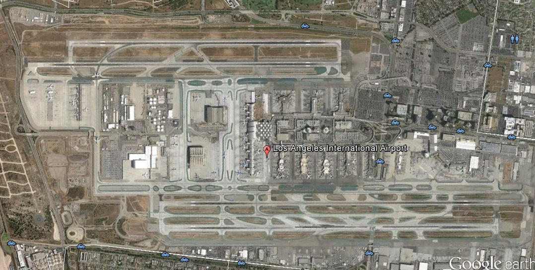 Los Angeles_LAX_google earth