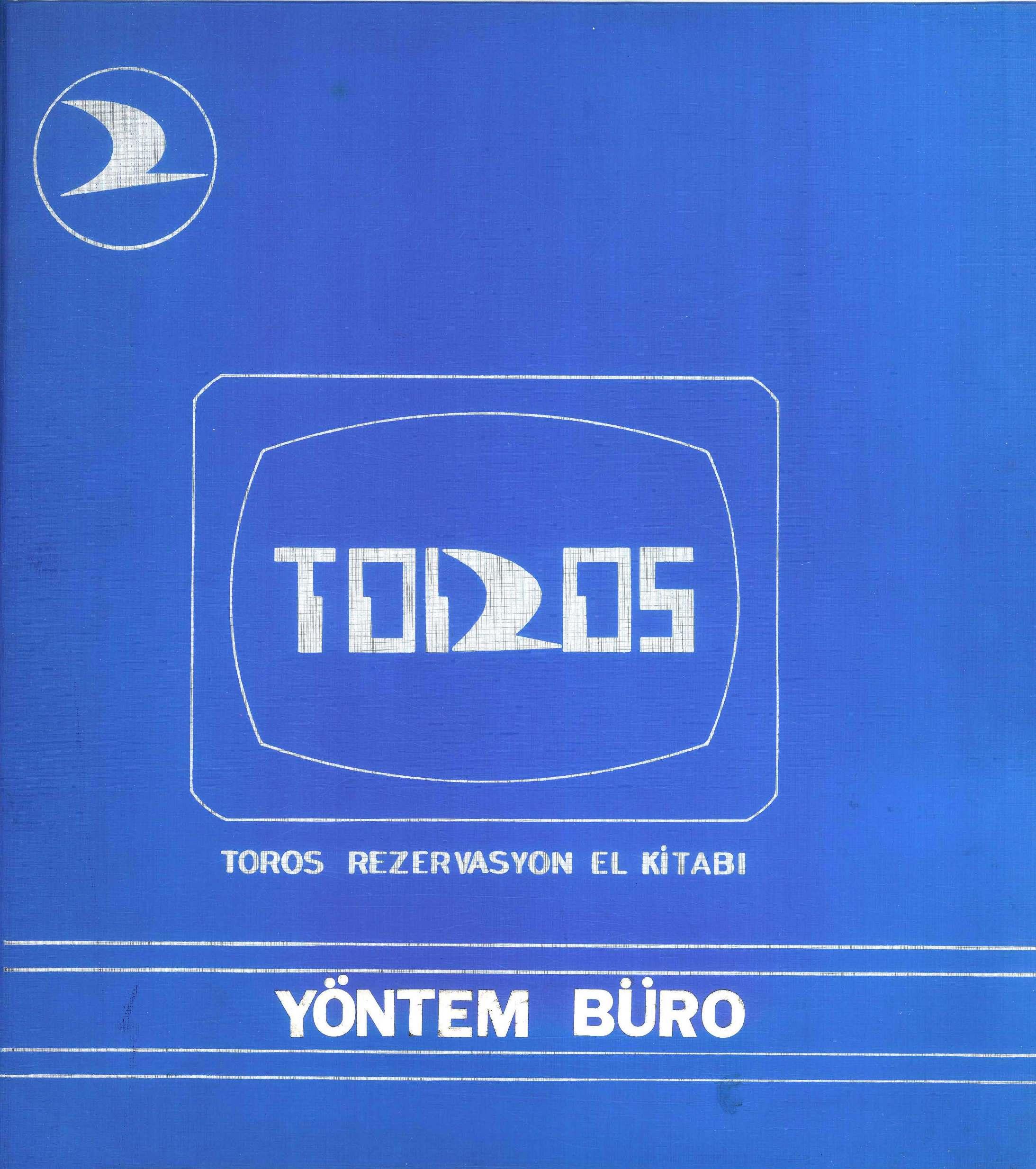 TOROS Rezervasyon El Kitabı_Yöntem Büro_Erden KINAYYİĞİT