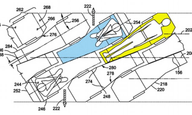 Boeing_patent_seat_arrangement_business class_3-3-3-3