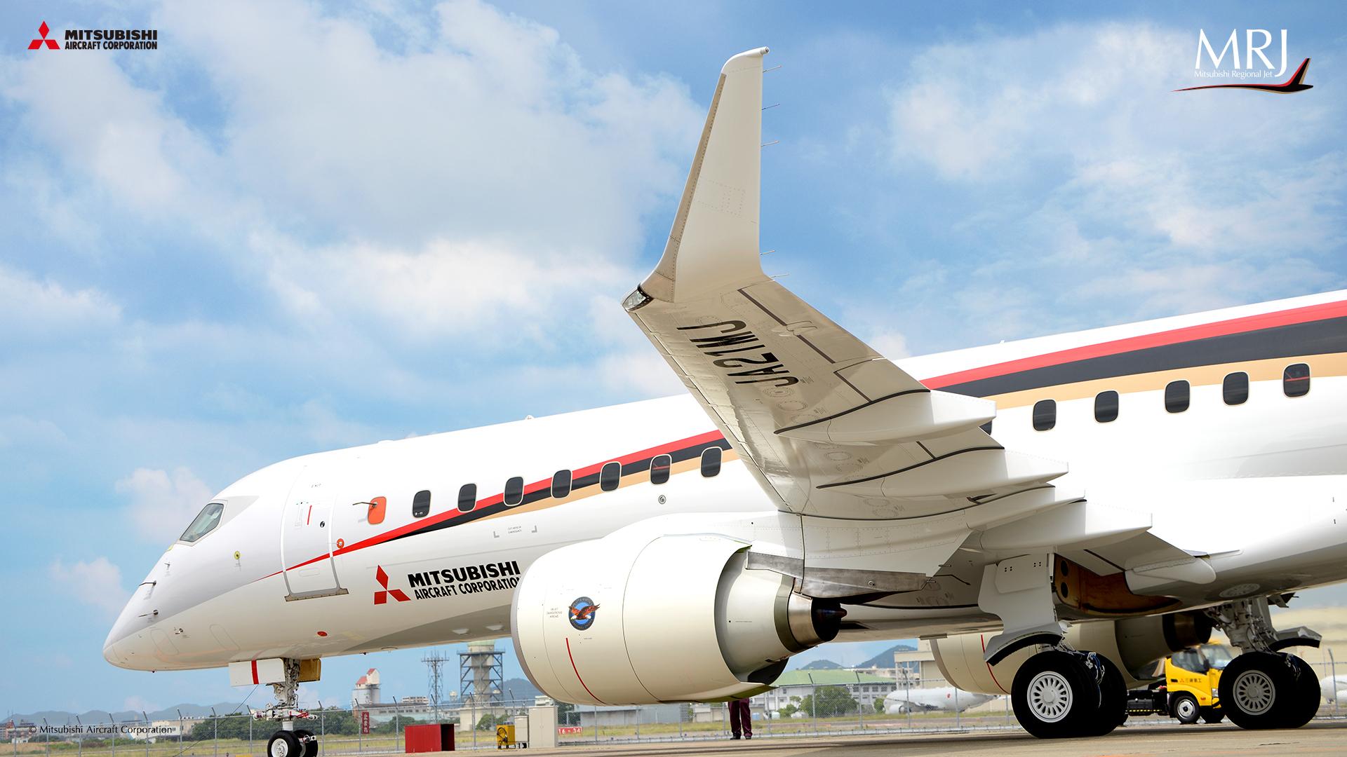 Mitsubishi_MRJ-90_test_JA21MJ