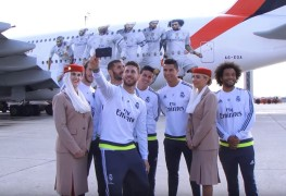 Real Madrid A380 timelapse Emirates