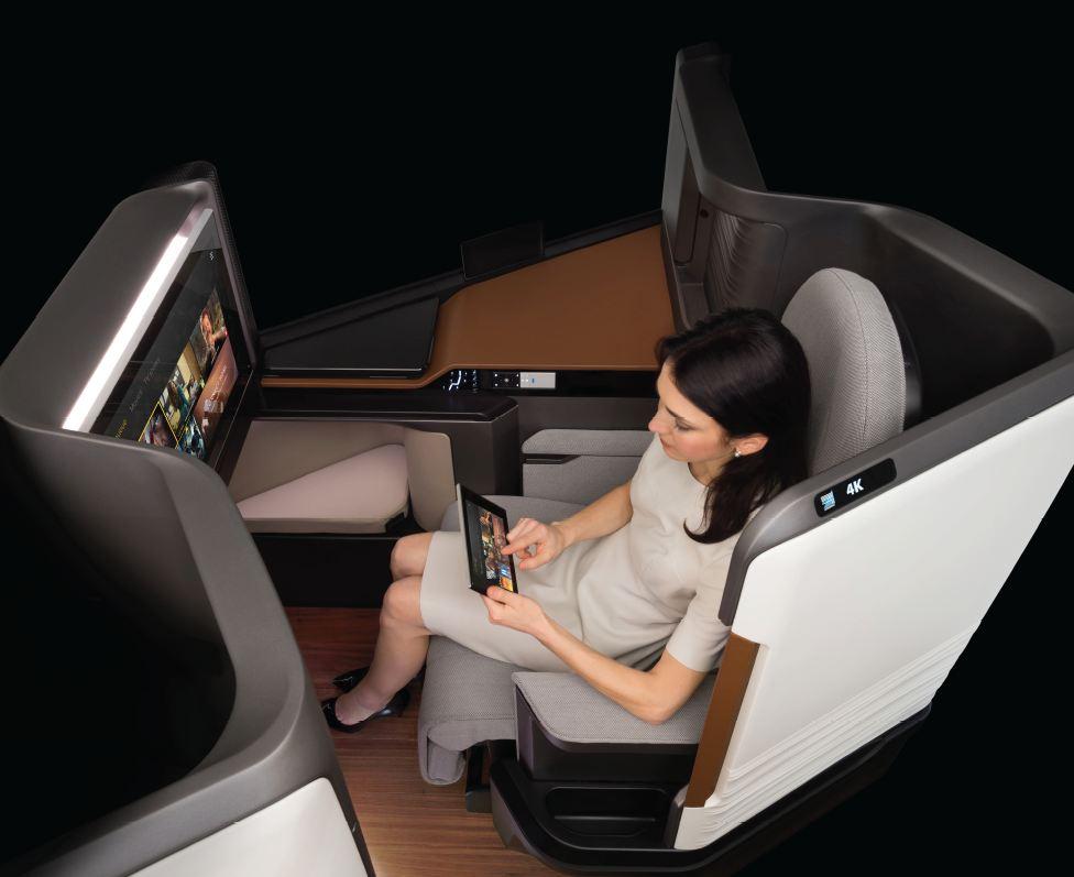 Panasonic Waterfront_BE Aerospace_IFE_yolcu_deneyim_ekran