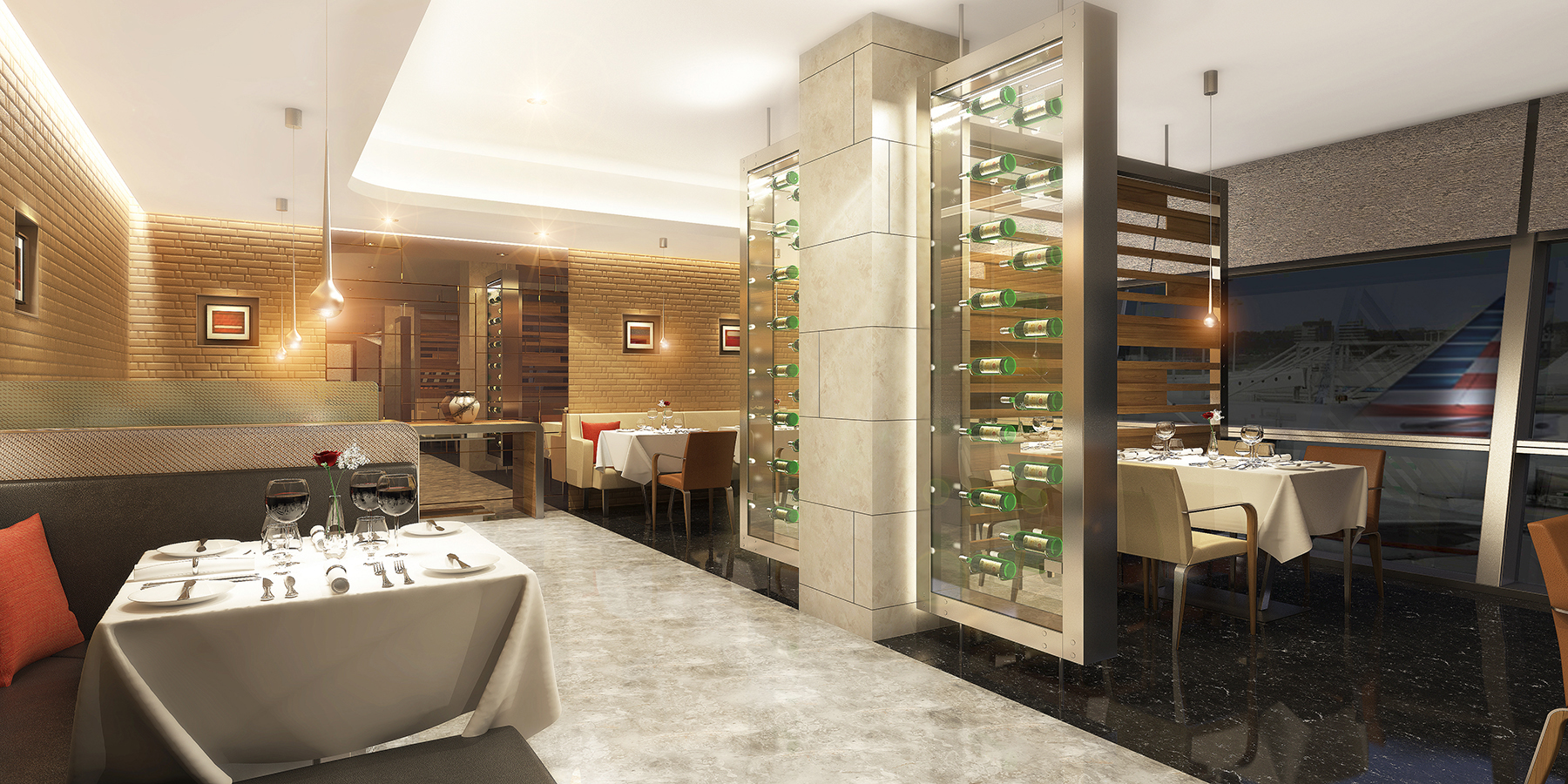 American Airlines_lounge_Flagship Dining