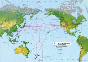 United_route map_1987