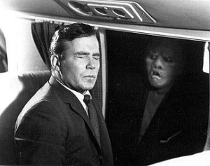 Twilight Zone_Nightmare at 20,000 Feet_gremlin_window_William Shatner