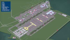 Changi East Programı Konsept Planı