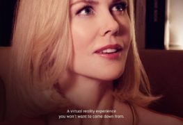 Etihad A380 Virtual Reality experience featuring Nicole Kidman