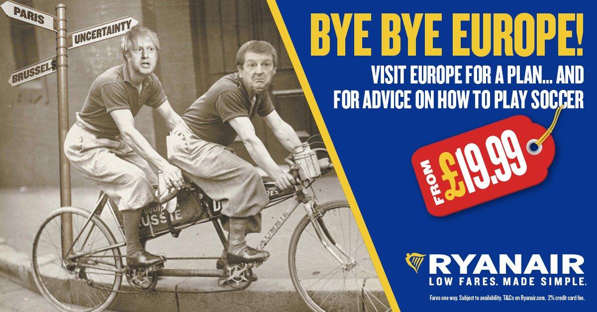 Ryanair Brexit Ad | Havayolu 101